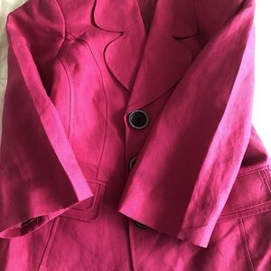 🌷Chapter One Brand Jacket in Fuchsia🌷